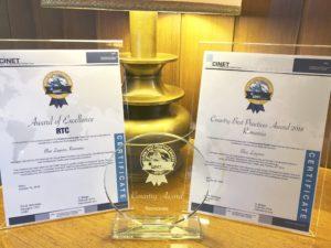 CINET GBPA 2018 | Blue Lagoon Clean: Premiul pe tara si Premiul pentru excelenta